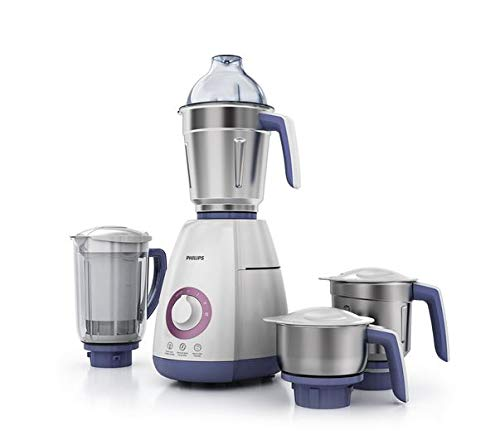 Philips Viva Collection 750W Mixer Grinder with 4 Jars