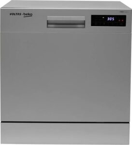 Voltas Beko 8 Place Table-Top Dishwasher–DT8S - best dishwasher in india
