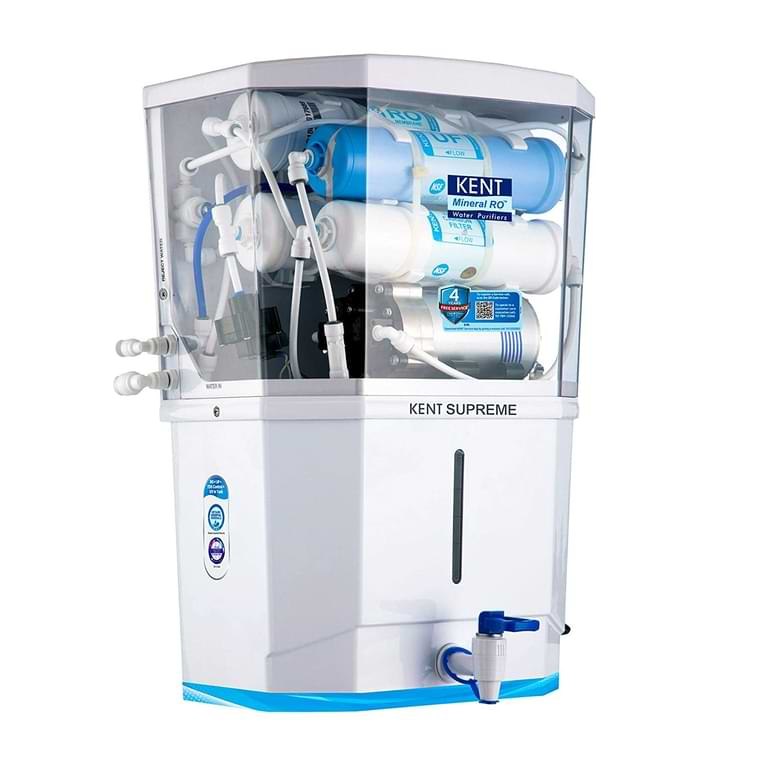 KENT Supreme water purifier 8-Litres-RO+UV+UF-TDS)