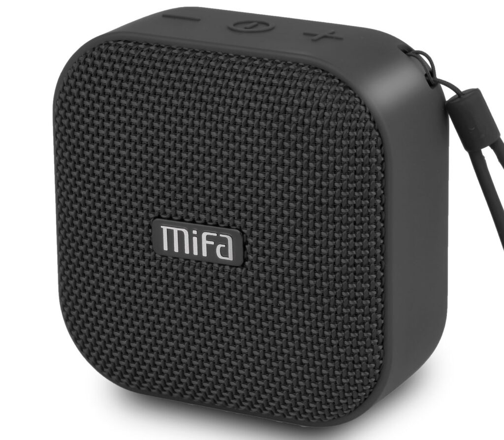 MIFA A1 HD Stereo Sound System with TWS Technology Bluetooth Speaker - Black